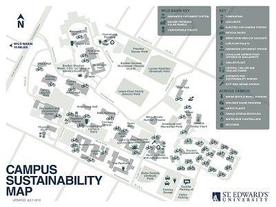 2018 Campus Sustainability Map