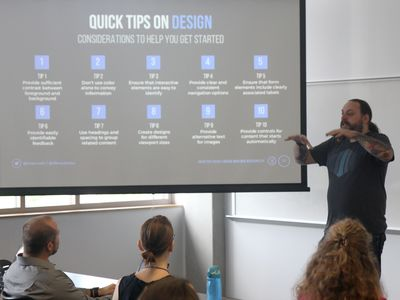 Design tips from a session at Access U's 2016 gathering.
