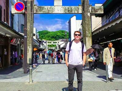 Anthony Fragapane Japan