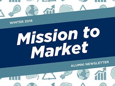 Alumni Newsletter Cover
