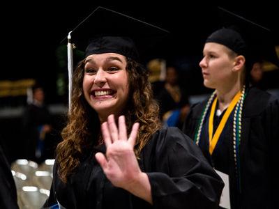 Graduation St Edwards University In Austin Texas