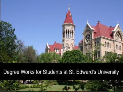 Video of Degree Works for Students