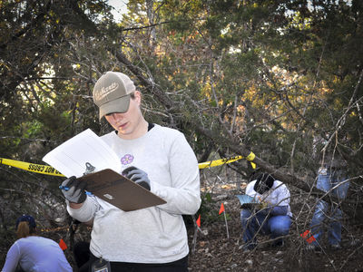 Forensic Science student at Wild Basin