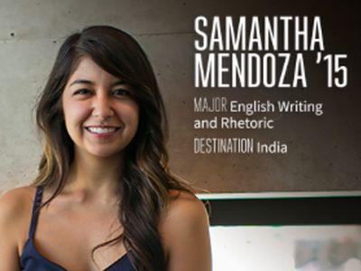 Fulbright Scholar Samantha Mendoza