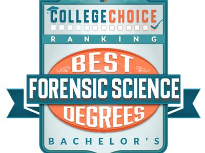 Named among best Forensic Science programs by College Choice.