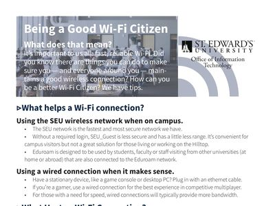 Being a Good Wi-Fi Citizen tips, also included in the post content.
