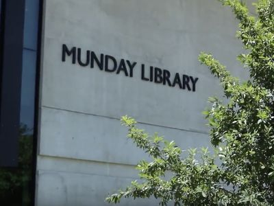 Image of Exterior of Munday Library