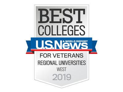 US News Veterans Best Colleges badge