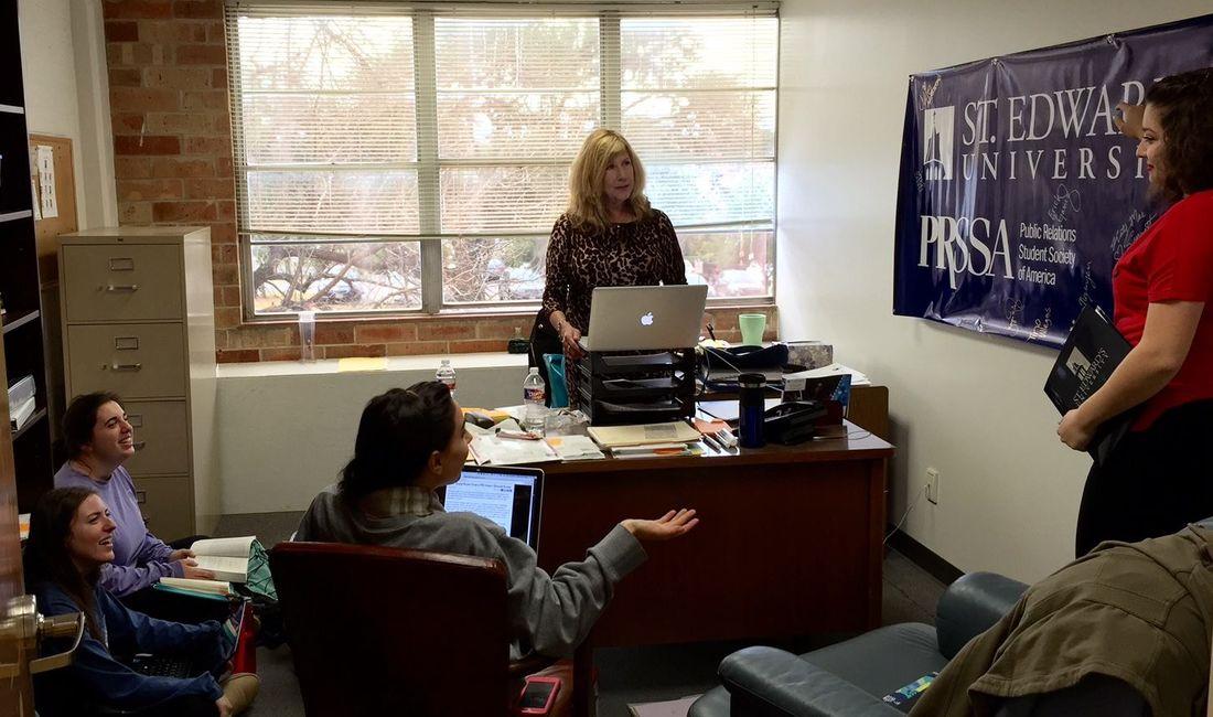 Julie Armstrong, M.A. Faculty Advisor PRSSA @SEU