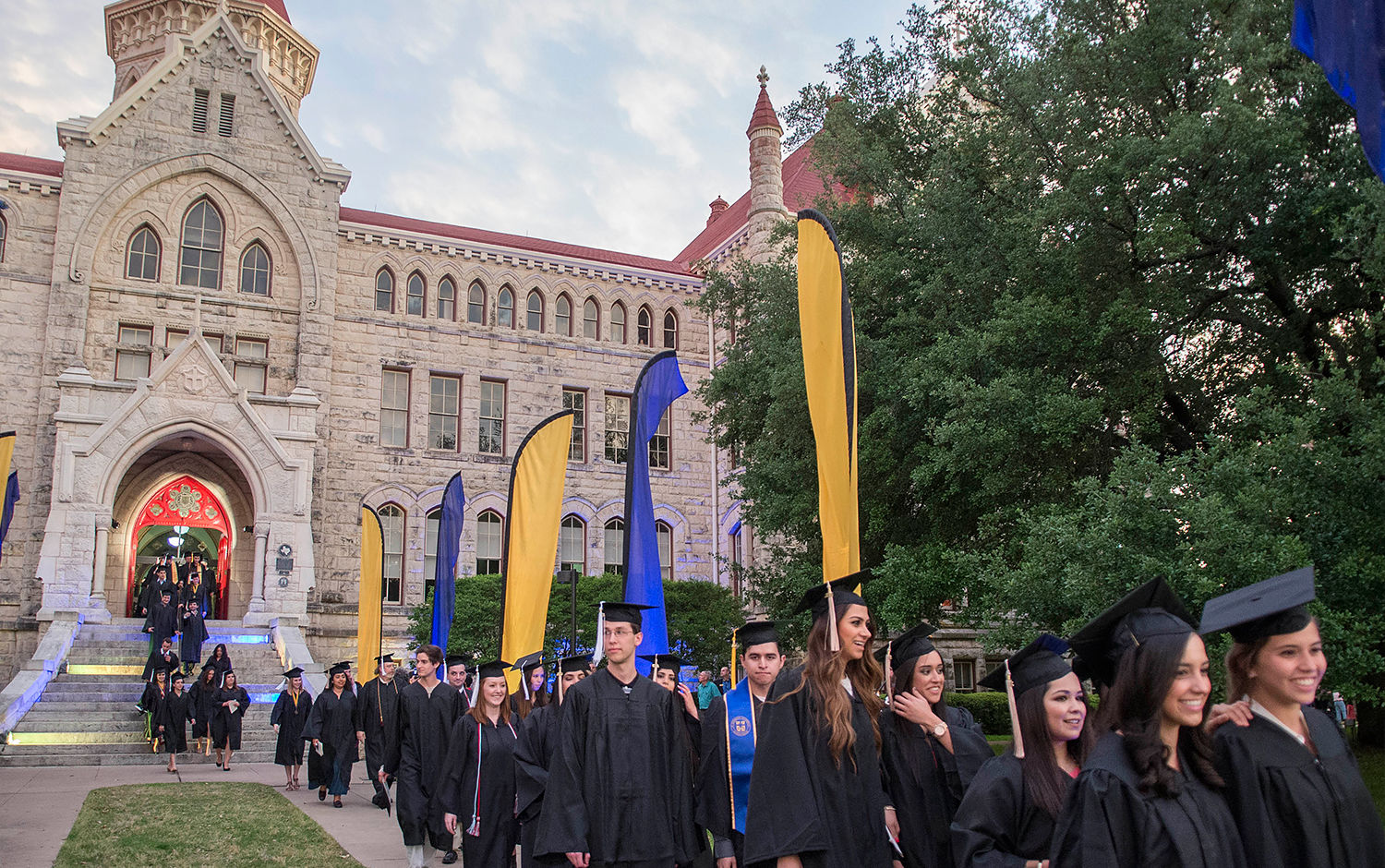 Graduation Traditions on the Hilltop