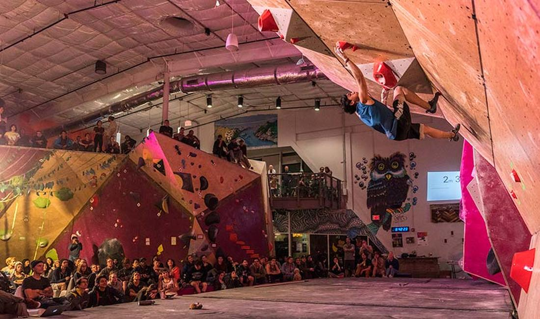 Crux Climbing Center close to campus hosts fun community events