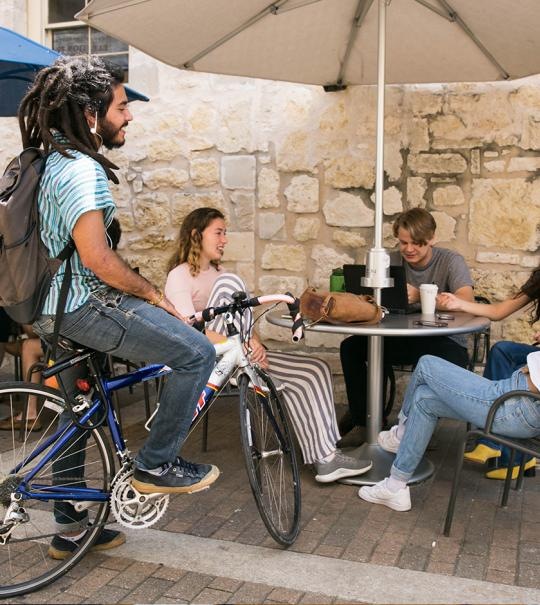 Stories from the Campus Coffee Shop