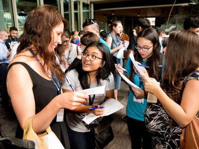 Lauren Welch '17 traveled to Australia for the MIT Entrepreneur Bootcamp.
