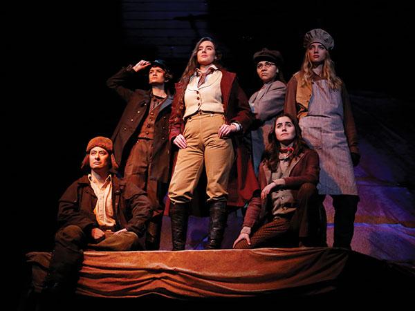award winning theater production at St. Edward's University