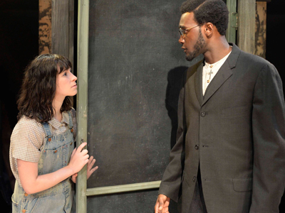 Theater Arts Students Performing in To Kill a Mockingbird, Mary Moody Northen Theatre, St. Edward's