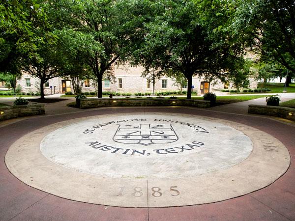 Holy Cross Plaza on St. Edward's campus