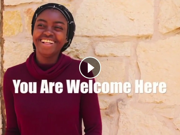"Student in ""You Are Welcome Here"" Video"